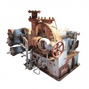 Turbina A Vapor Modelo Atlas C-500 Pot. 635 Kw C/ Trocador De Calor