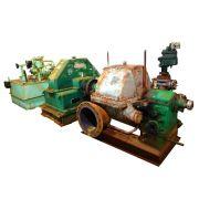 TURBO REDUTOR 2500 HP, 45/21 KGF/CM² CONTRA PRESSÃO 1,5 KGF/CM², ROTAÇÃO DE SAÍDA 680 RPM