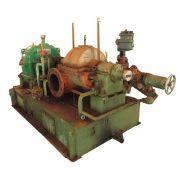 TURBO REDUTOR DEDINI/TGM 2000 HP, 45/21 KGF/CM² CONTRA PRESSÃO 1,5 KGF/CM², ROTAÇÃO SAÍDA 1200 RPM