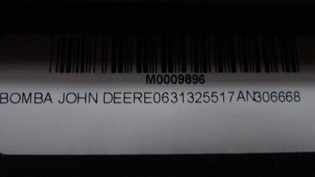 BOMBA JOHN DEERE 0631325517 AN306668