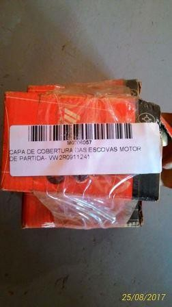 CAPA DE COBERTURA DAS ESCOVAS - MOTOR DE PARTIDA - VW 2R0911241