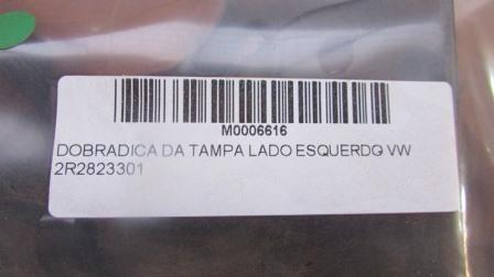 DOBRADICA DA TAMPA LADO ESQUERDO - VW 2R2823301