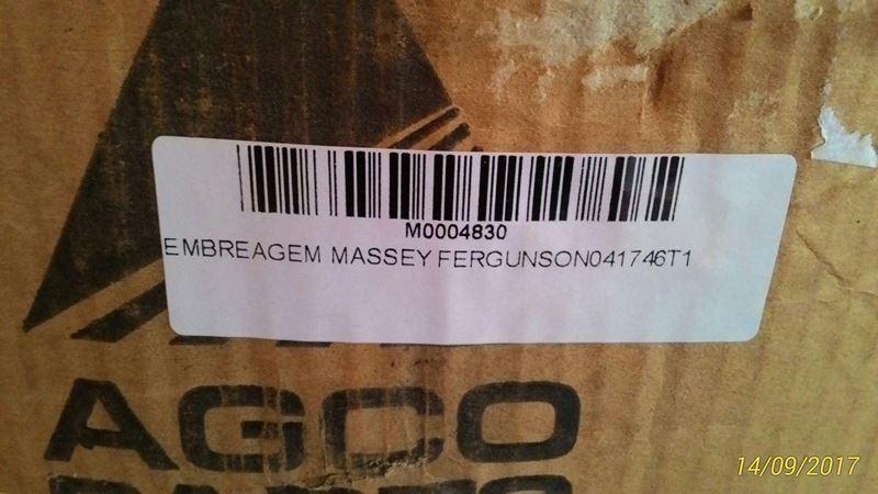 EMBREAGEM MASSEY FERGUSON 041746T1