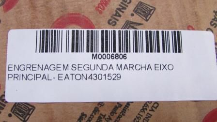 ENGRENAGEM SEGUNDA MARCHA EIXO PRINCIPAL - EATON 4301529