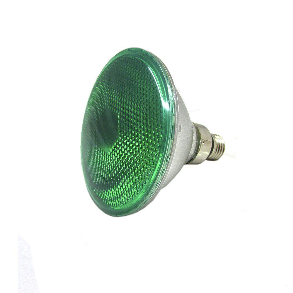 LAMPADA HALOGENA VERDE 127-100W- E-27