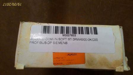 MODULO COMUN SOFT ST-3RW4900-0KC00  PROFIBUS-DP SIEMENS