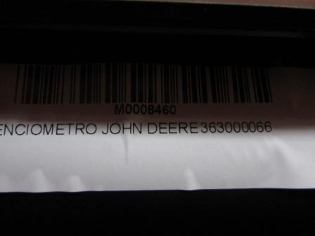POTENCIOMETRO JOHN DEERE 363000066