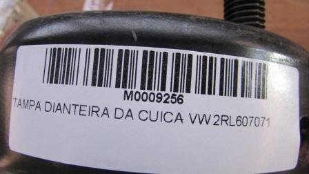 TAMPA DIANTEIRA DA CUICA - VW 2RL607071