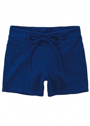 Short Infantil Feminino Azul Marinho - Malwee