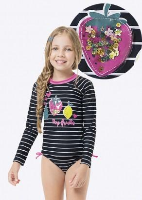 Blusa Infantil com Proteção UV50+ Fruits Malwee