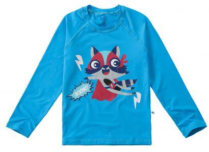 Blusa Infantil com Proteção UV 50+ Azul Malwee