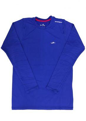 Blusa Térmica Infantil com Proteção UV50+  Azul Royal Elite