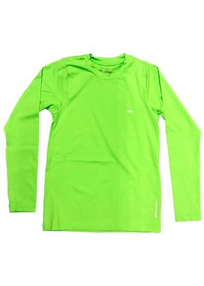 Blusa Térmica Infantil com Proteção UV50+  Verde Elite