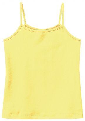 Blusa Infantil Feminina Verão Amarela Malwee