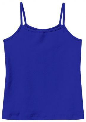 Blusa Infantil Feminina Verão Azul Malwee