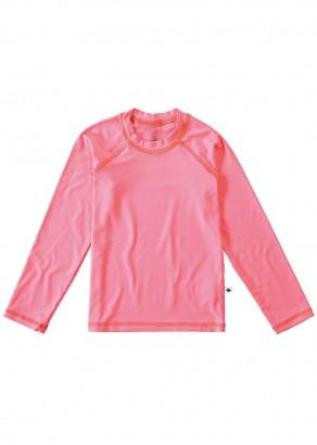 Blusa Térmica Infantil com Proteção UV50+ Rosa Malwee