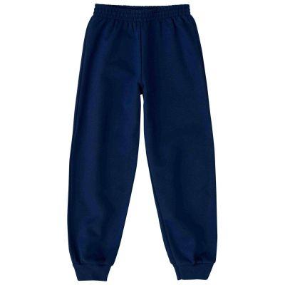 Calça de Moletom Infantil Inverno Azul Malwee