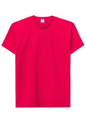 Camiseta ADULTO Masculina Verão Vermelha Malwee