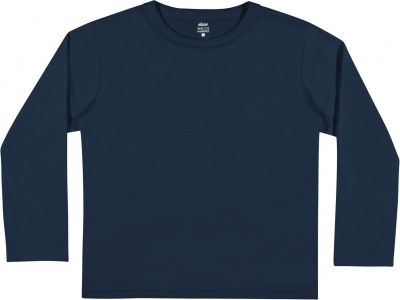 Camiseta Infantil Masculina Inverno Marinho Elian