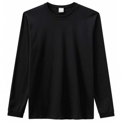 Camiseta Masculina ADULTO Inverno Preta Malwee