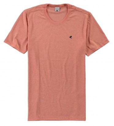 Camiseta Masculina ADULTO Laranja Flamê Malwee