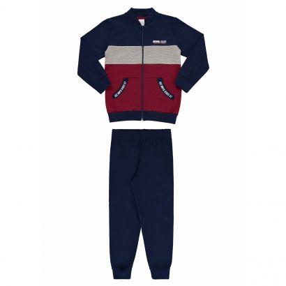 Conjunto Infantil Masculino Inverno Azul Brand Alakazoo