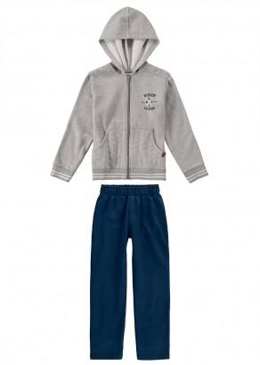 Conjunto Infantil Masculino Cinza Malwee