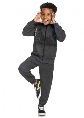 Conjunto Infantil Masculino Cinza Downtown - Elian