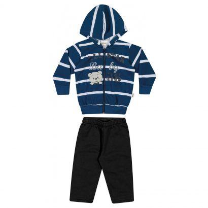 Conjunto Infantil Masculino Inverno Azul All Star Elian