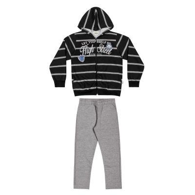 Conjunto Infantil Masculino Inverno Preto High Street Elian