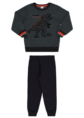 Conjunto Infantil Masculino Inverno Verde Rex - Alakazoo