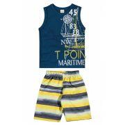 Conjunto Infantil Masculino Azul Marinho Point Elian