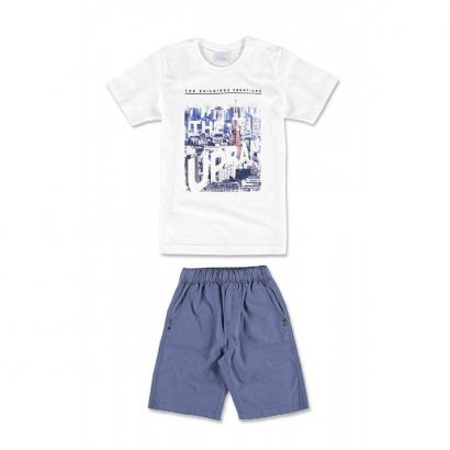 Conjunto Infantil Masculino Branco Urban Malwee