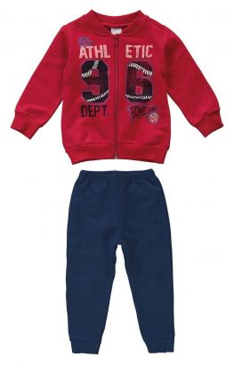 Conjunto Infantil Masculino Inverno Vermelho Athletic Malwee