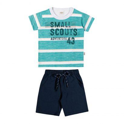 Conjunto Infantil Masculino Verde Small Elian