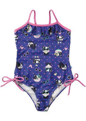 Maiô Infantil Verão Azul Frenchies Malwee
