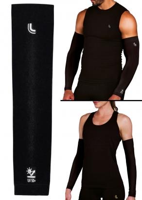 Manguito Lupo Unissex com Proteção UV50+ Preta - Lupo
