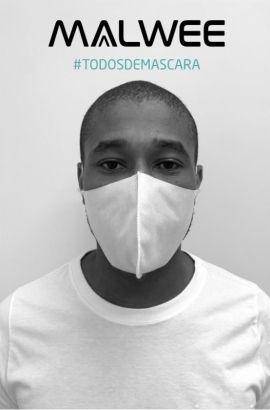 Máscara de Proteção Lavável Malwee