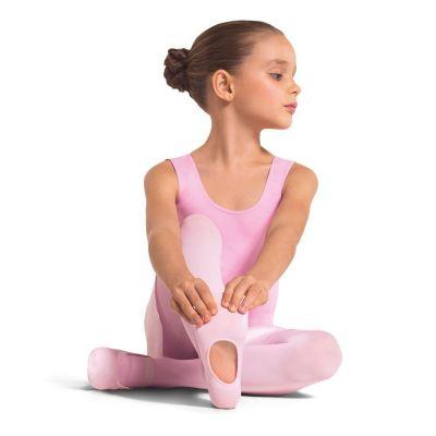 Meia Calça Infantil Ballet Versátil Fio 60 Rosa Lupo