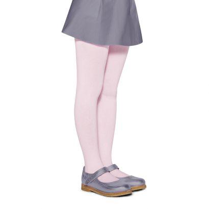 Meia Calça Infantil Fio 80 Rosa Algodão Lupo