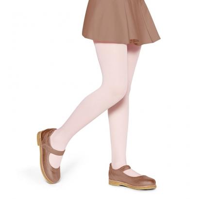 Meia Calça Infantil Rosa Suave Fio 40 - Lupo