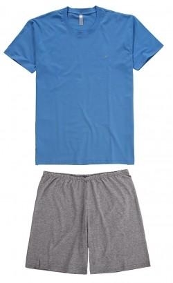 Pijama ADULTO Masculino Azul - Malwee