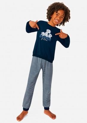 Pijama Infantil Masculino Inverno Mãe e Filho Malwee