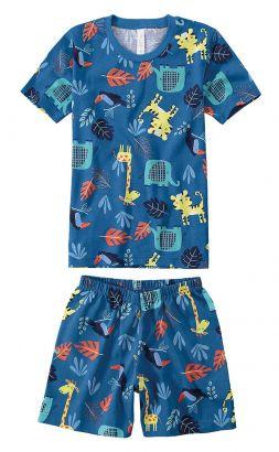 Pijama Infantil Masculino Marinho Savana Malwee