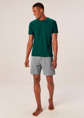 Pijama Masculino Adulto Verde Malwee