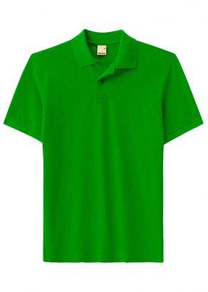 Polo ADULTO Masculina Verão Verde Malwee