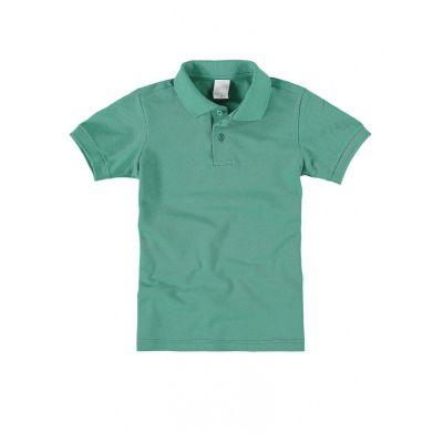 Polo Infantil Masculina Verde Malwee