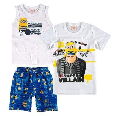 Conjunto dos Minions + Camiseta Minions Malwee