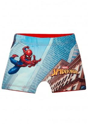 Sunga Boxer Infantil Verão Vermelha Spiderman Tip Top