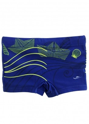 Sunga Infantil Boxer Azul Royal Sea Elite